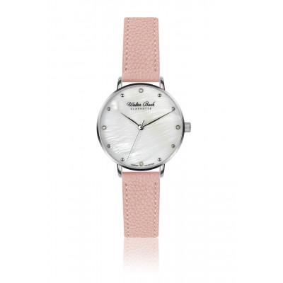 Frauenuhr Kieler Leder   Pink