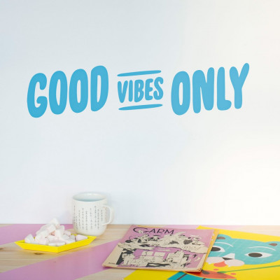 Wall Decal | Good Vibes Only