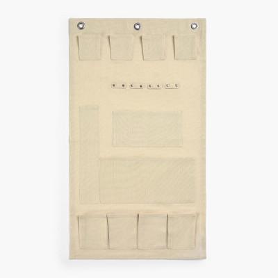 Kleiderbügel mit Fächern Pongo 40x70   Ecru