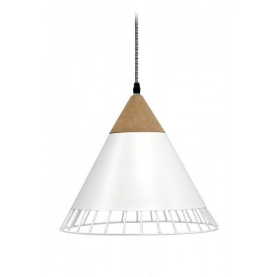Wallace Pendant Lamp | Matte White