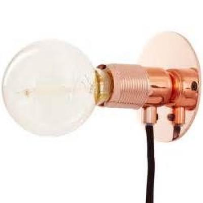 E27 Wall Light S | Copper