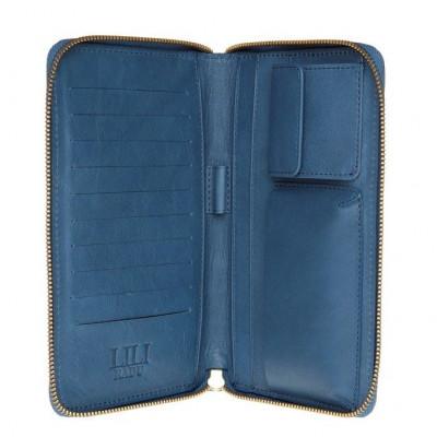 Brieftasche Iconic Blue
