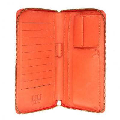Brieftasche Orange