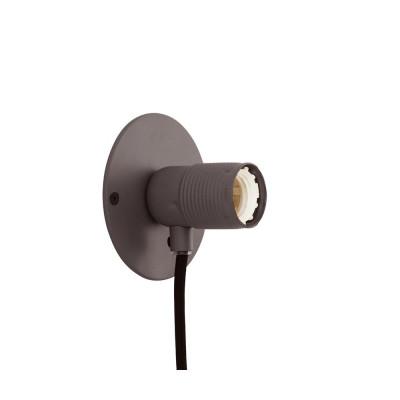 E27 Wall Light S   Grey