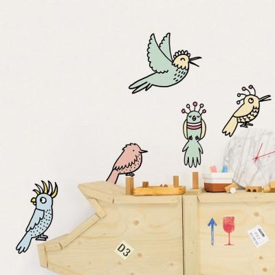 Eva Mouton Wall Sticker | Bird