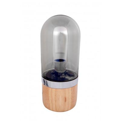 Table Lamp Walpur | Grey/Wood