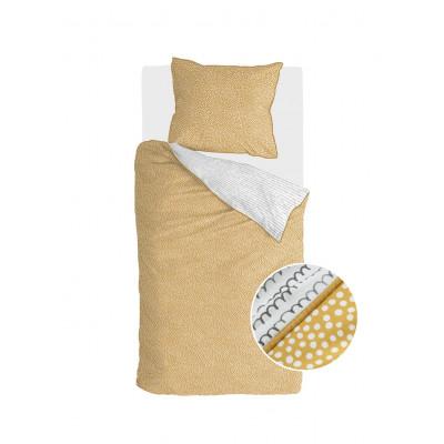 Bettbezug Dots & Doodles   Gelb