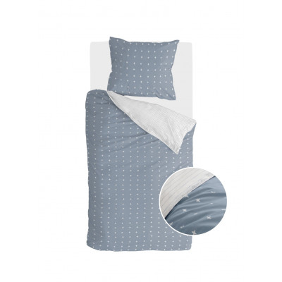 Bettbezug Odd Twins   Blau