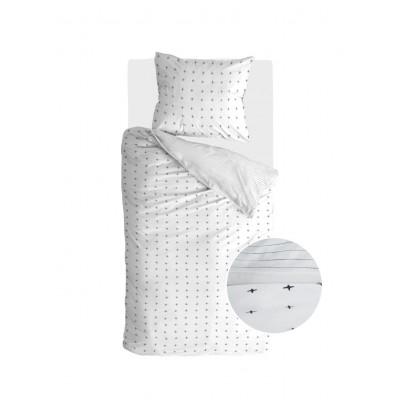 Bettbezug Odd Twins   Weiß