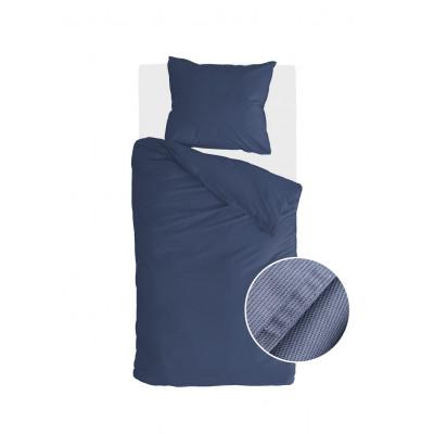 Bettbezug Soft Structure   Dunkelblau