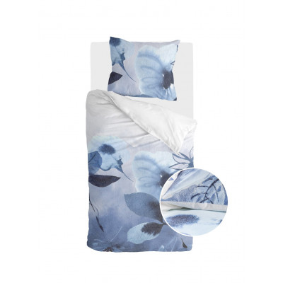 Bettbezug Sweet Mundane   Weiß / Blau
