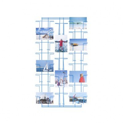 Picture Wall Rack Blue