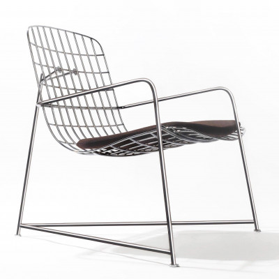 Wang Lounger Wire   Steel