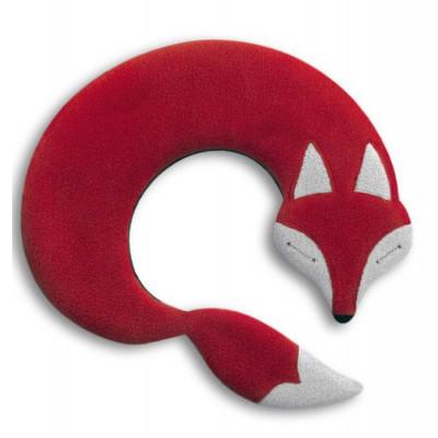 Wärmekissen Der Fuchs Noah   Rot/Schwarz