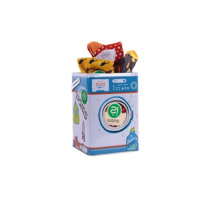 Unisex-Socken 10er-Set   Waschmaschinen-Geschenkbox
