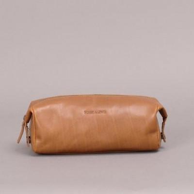 Washington Wash Bag   Brown