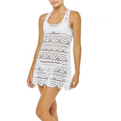 Water Lily Island Lace Dress