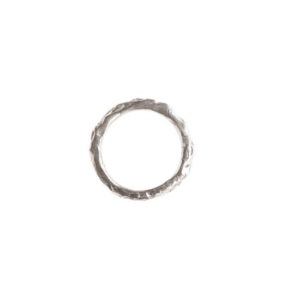 Wasserring Silber   Breit