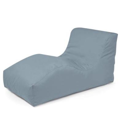 Garden Lounger Wave Plus | Stone Grey