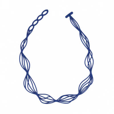 Necklace Waves | Blue