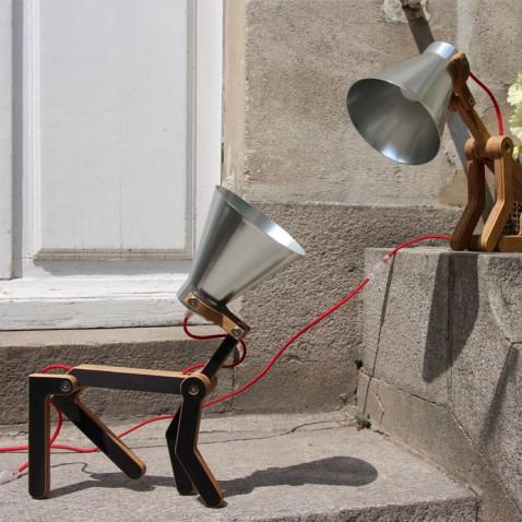 Waaf Lampe Schwarz | Dunkel