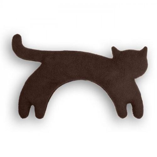 Warming Pillow Minina Cat Large   Chocolate
