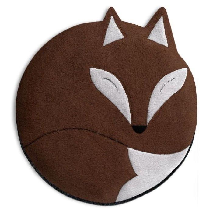 Warming Pillow Luca the Fox   Chocolate