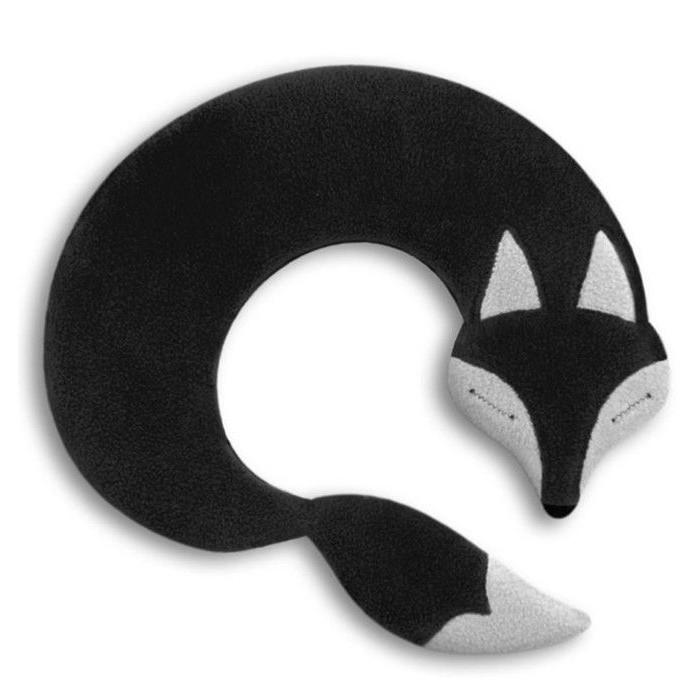 Warming Pillow Noah the Fox   Black