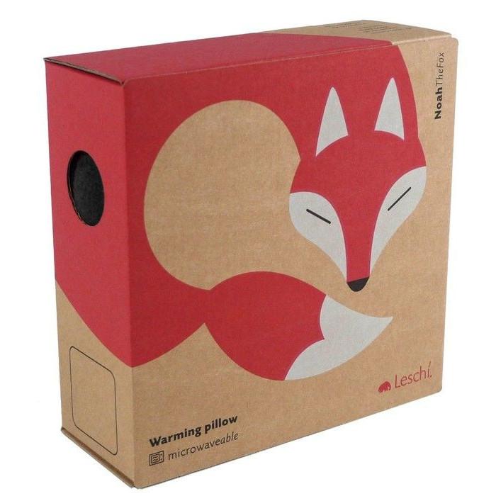 Warming Pillow Noah the Fox   Red/Black