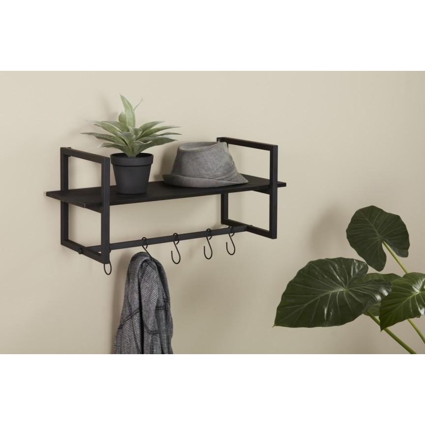 Wall-mounted Coat Rack Victor | Black