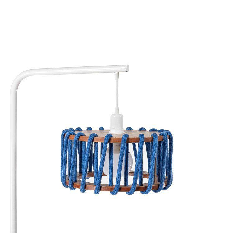 Stehleuchte Macaron 30 cm | Weiß / Blau