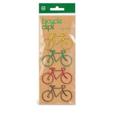 4 Bike Clips | Multicolour