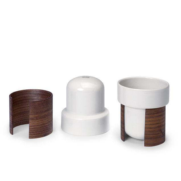 WARM 2er-Set Tee- und Kaffeetassen | Weiß