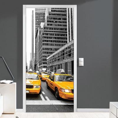 Wall Sticker Door 90 cm x 200 cm   New York