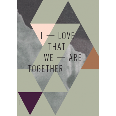Geometry of Love Poster | We Are Together