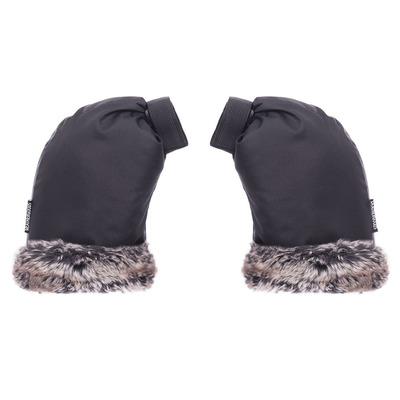 Pogies Bicycle Gloves City | Faux Fur