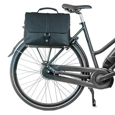 Rucksack & Fahrradtasche Urban Satchel | Schwarz