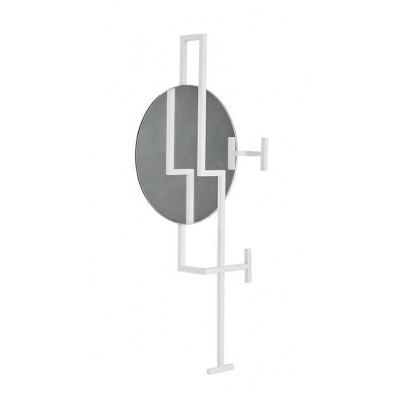 Graphic Coat Rack | White