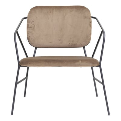 Lounge Chair Klever   Brown