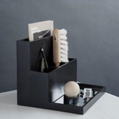 Desktop Organizer   Black