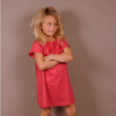 Girl Marco Red Blouse/Dress