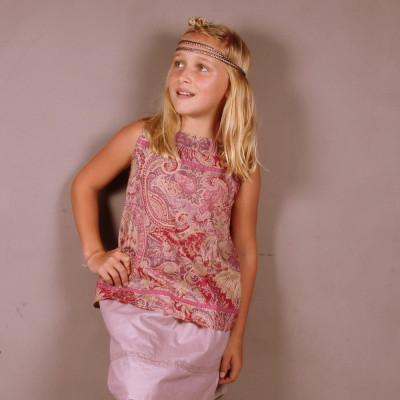 Short Skirt Pink