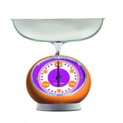 TIX Mechanical Scale   Orange