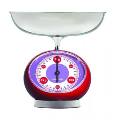 TIX Mechanical Scale   Red