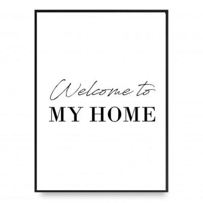 Poster | Willkommen bei mir zu Hause