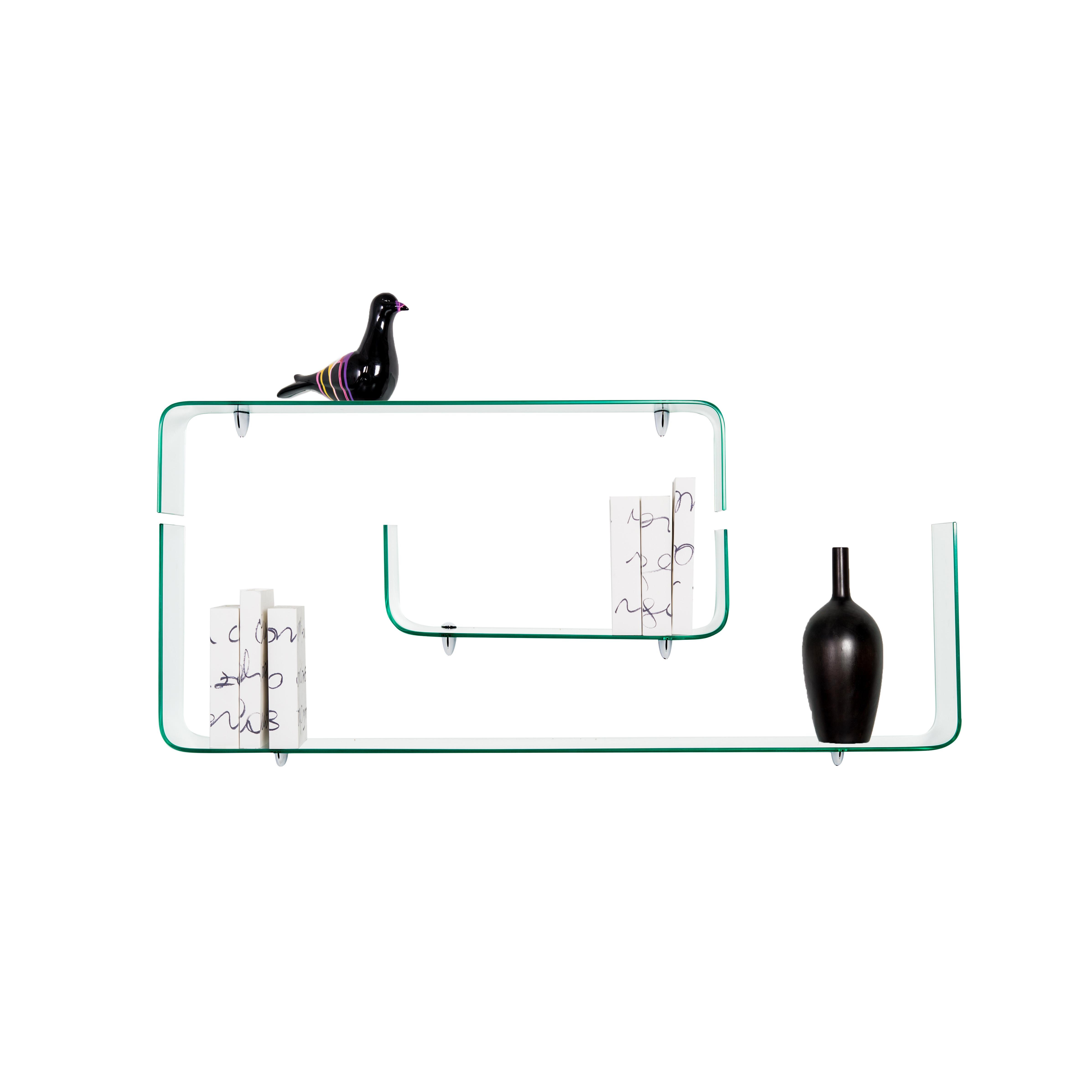 Set of 3 Shelves | Glass