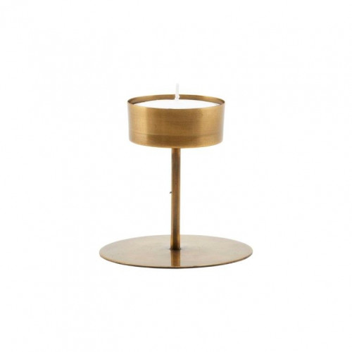Kerzenständer Anit H 10 cm | Antikes Messing