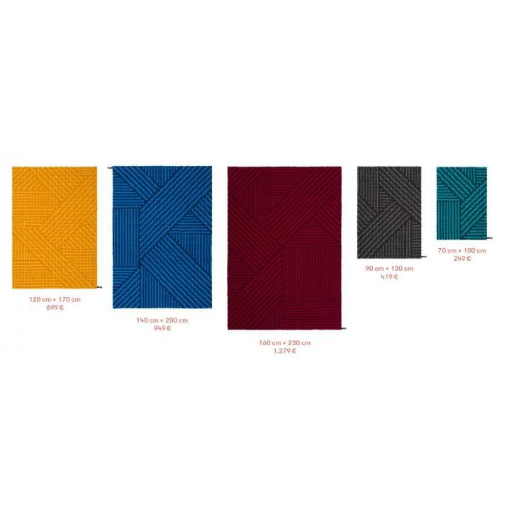 Felt Ball Rug Weave | Different Colours