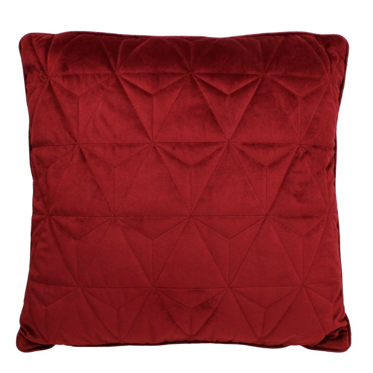 Isom Filled Cushion 50 x 50 cm   Red
