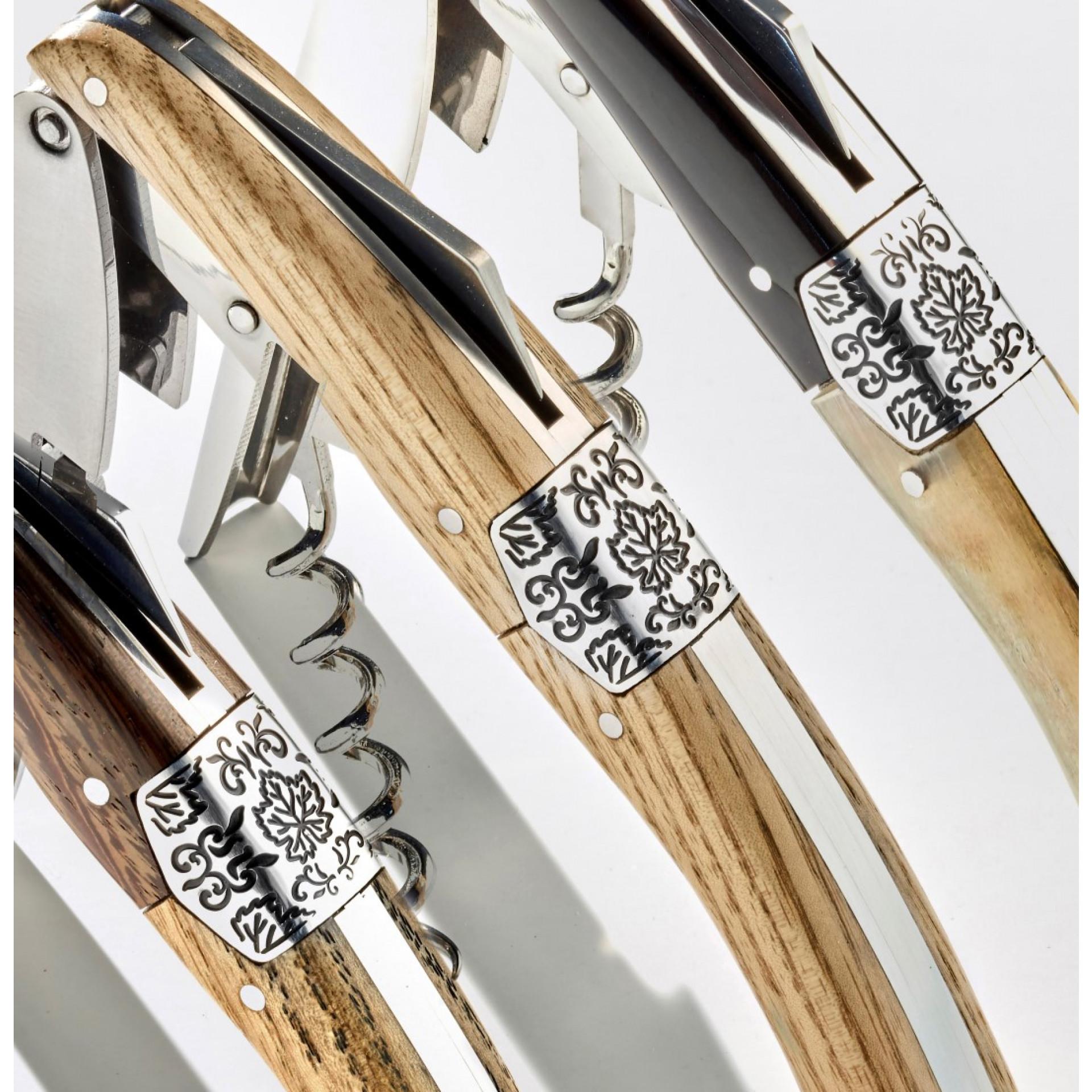Korkenzieher Primitivo | Helles Holz
